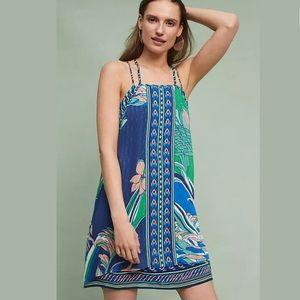 Maeve Printed Layered Dress | Anthropologie NWOT